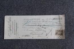 Lettre De Change -  TOULOUSE, Raphael DUBOIS, Représentant De Fabriques - Bills Of Exchange