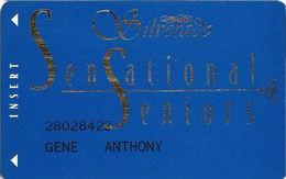 Silverado Casino - Deadwood SD - Slot Card - CPICA 23873 Over  Mag Stripe - Casino Cards