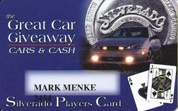 Silverado Casino - Deadwood SD - Slot Card - Casino Cards