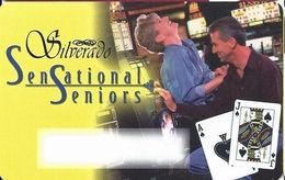 Silverado Casino - Deadwood SD - BLANK Slot Card - Blond Woman - Casino Cards