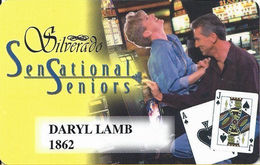Silverado Casino - Deadwood SD - Slot Card - Blond Woman - Casino Cards