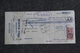 Lettre De Change - PARIS, SECOR, Laboratoires THO RADIA - Bills Of Exchange