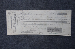 Lettre De Change - CHARLEVILLE , DEVILLE PAILLIETTE, Fonderie Corneau Alfred - Bills Of Exchange