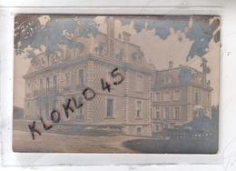 77 Jouarre - Château Péreuse - Côté Sud - Vue De Profil Prise En été Sous Les Arbres  ... - CARTE PHOTO 1918 - Altri Comuni