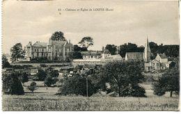 CPA - Carte Postale - France - Château Et Eglise De Louye (CPV901) - Frankrijk