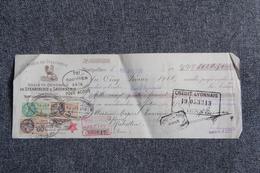 Lettre De Change - MONTPELLIER, Usine De VILLODEVE, Sté Générale De STEARINERIE Et SAVONNERIE - Bills Of Exchange
