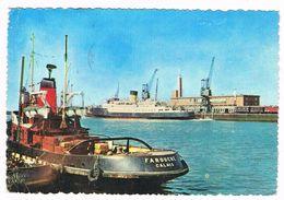"CALAIS  62  Gare Maritime Avec Bateau "" Farouche "" A Reconnaitre .1965 - Calais"
