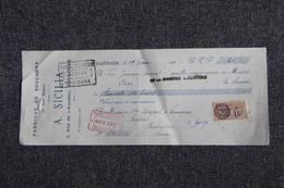 Lettre De Change - TOULOUSE, A.SICLAR, Fabrique De Bouchons. - Bills Of Exchange