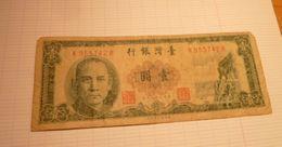 Billet De Banque TAIWAN - Taiwan
