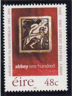 Ireland 2004 MNH Scott #1534 48c Abbey Theatre, Dublin Centenary - 1949-... Repubblica D'Irlanda