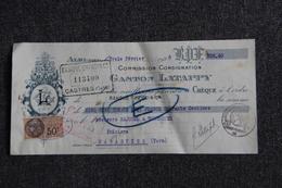 Lettre De Change - ALBI, Gaston LATAPPY, Commission, Consignation. - Bills Of Exchange