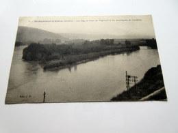 CPA - Saint St RAMBERT D'ALBON (26) - Les îles, Le Pont De Peyraud Et Les Montagnes De L'Ardèche - France