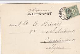 BP-01 Kaart Met Kleinrond Stempel KATWIJK A/d RIJN - Lettres & Documents