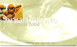 ISRAEL, 2000, Booklet 35, Israel Food - Booklets