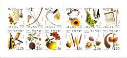 ISRAEL, 2002, Booklet 37, Twelve Months - Booklets