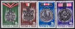 TRINIDAD & TOBAGO 1973 SG #440-43 Compl.set Used 11th Anniv Independence - Trinidad & Tobago (1962-...)