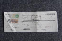 Lettre De Change - ISIGNY, H. FARDIN, Beurres Salés - Bills Of Exchange