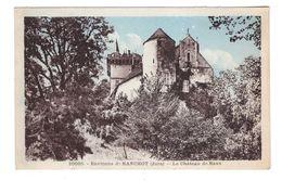 39 Le Chateau De Rans Environs De Ranchot Cpa Carte Taxée Timbre Taxe à 30 Centimes 1935 - Other Municipalities