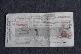 Lettre De Change - TOULOUSE, Grande Semoulerie Francaise - Bills Of Exchange