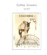 Colombia PA 1977 Coffee      Scott.C642+See Scans On Scott.Page - Colombia