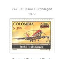 Colombia PA 1977 Jet Surch.     Scott.C636+See Scans On Scott.Page - Colombia