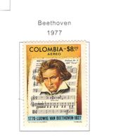 Colombia PA 1977 Beethoven    Scott.C643+See Scans On Scott.Page - Colombia