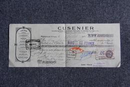 Lettre De Change - MARSEILLE , CUSENIER, Distillerie. - Bills Of Exchange