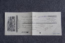 Lettre De Change - CARENTAN , Etablissement J.LEPELLETIER - Bills Of Exchange