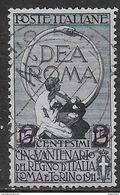 Italia Italy 1913 Regno Soprastampati C2 Sa N.101 US - 1900-44 Vittorio Emanuele III