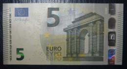 5 EURO S001H1 DRAGHI ITALY ITALIA SERIE SF Perfect UNC - 5 Euro