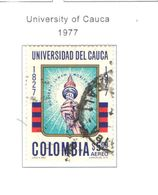 Colombia PA 1977 Cauca Univ.     Scott.C654+See Scans On Scott.Page - Colombia