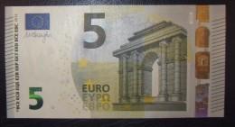5 EURO T003F6 Ireland Serie TC Draghi Perfect UNC - EURO