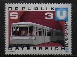 AUTRICHE  N° 1397    * *    Metro - Tramways