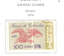 Colombia PA 1974 Condor    Scott.C597+See Scans On Scott.Page - Colombia