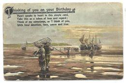 Inghilterra Thinking Of You On Your Birthday Non Viaggiata - Inghilterra