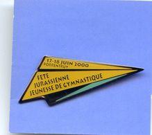 Fête Jurassienne Jeunesse De Gymnastique - 17 18 Juin 2000 Porrentruy - Gymnastics