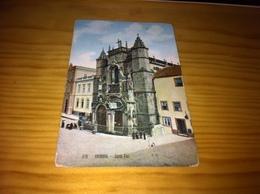 """Post Card Portuguese ,""""Santa Cruz - Coimbra - Coimbra"""