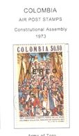 Colombia PA 1973 Assemblea Costit. Scott.C589+See Scans On Scott.Page - Colombia