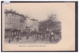GAILLAC - PROMENADE DOM VAYSSETE - TB - Gaillac