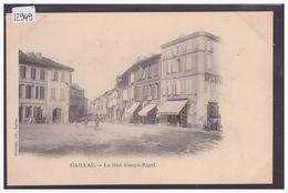 GAILLAC - RUE JOSEPH RIGAL - TB - Gaillac