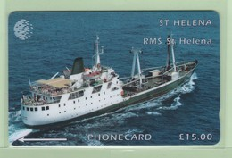 St Helena - 1995 Ships - £15 RMS St Helena - STH-14 - VFU - St. Helena Island