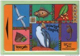 NZ - 1996 Native Pacific - $5 Penguin - NZ-P-88 - Mint - New Zealand