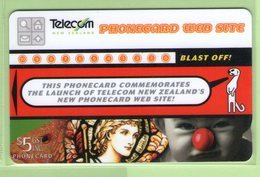 New Zealand - 1997 Phonecard Website - $5 Montage - VFU - NZ-P-91 - New Zealand