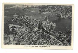 Australia Sidney Murray Views Aerial View  Viaggiata 1951 - Sydney