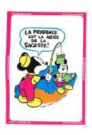 La Prudence Est La Mère De La Sagesse - Mickey - Carte Autocollant  - 4074 - Andere