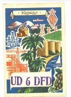 USSR Moscow Kabka3 UD 6 DFD - Cartoline