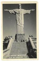 Brasile Rio De Janeiro1951 Cristo Redentor Non Viaggiata - Rio De Janeiro