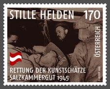 Austria 2016 - Stille Helden - Rettung Der Kunstschätze, Salzkammergut 1945 Mnh - 1945-.... 2nd Republic