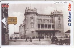 SERBIA - National Theatre, Telecom Srbija Telecard 200 Din, 08/04, Used - Yugoslavia