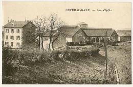 CP-Les Dépôts - SEVERAC-GARE - Autres Communes